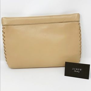 J. Crew BUTTER SOFT Leather Clutch